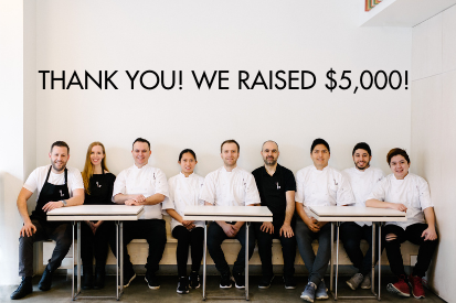 Thank you! In 2020 we raised $5,000!